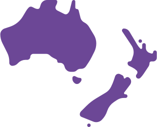 AUS & NZ_Map